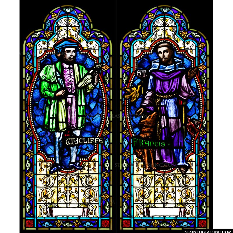 John Wycliffe and St. Francis
