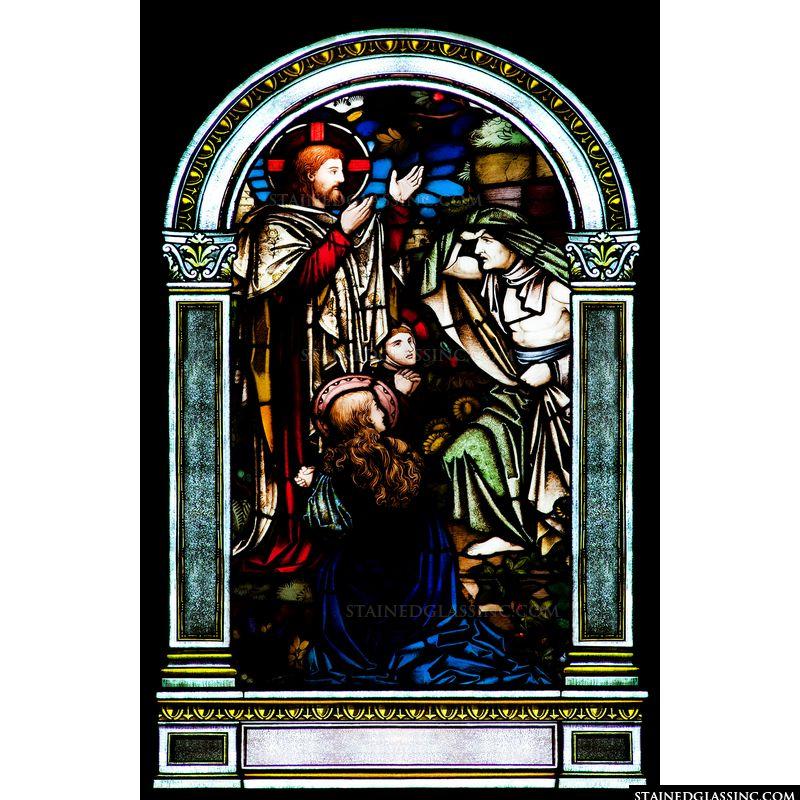 Jesus and Zaccheus