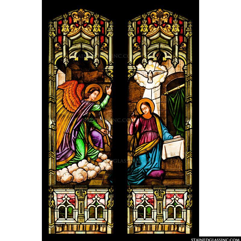 Mary and Angel Gabriel