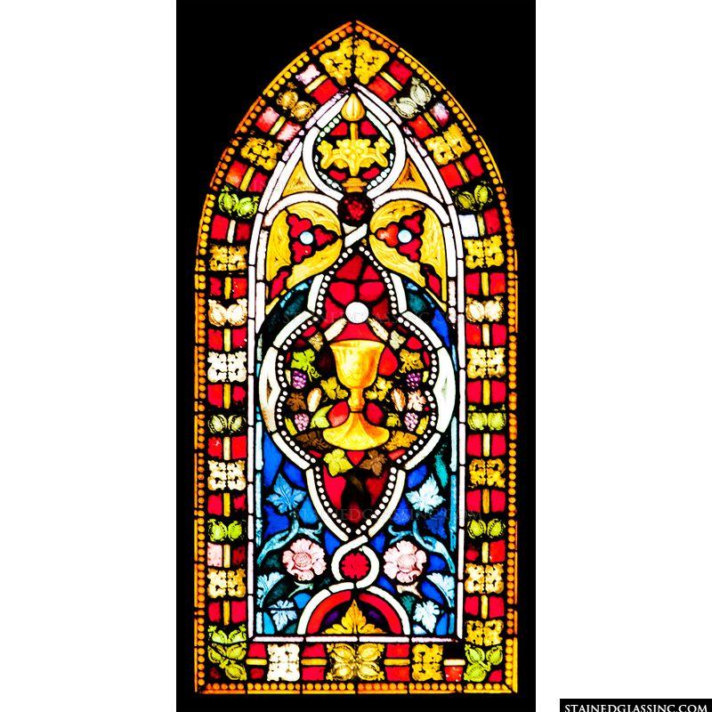 Colorful Eucharistic Cup