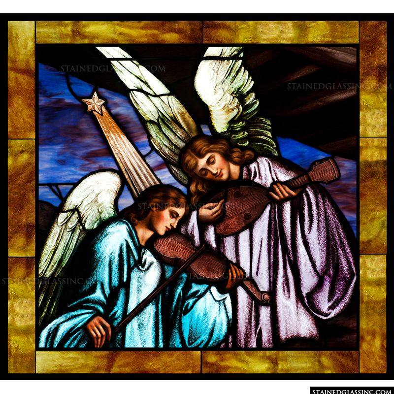 Musical Angels and the Savior's birth