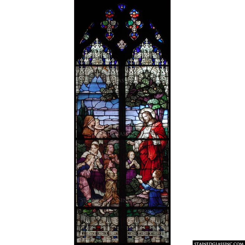 Blessing Children Gothic