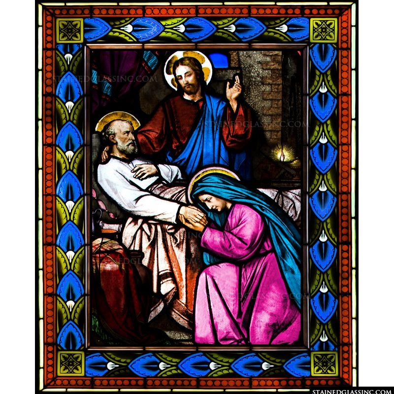 Saint Joseph on His Deathbed
