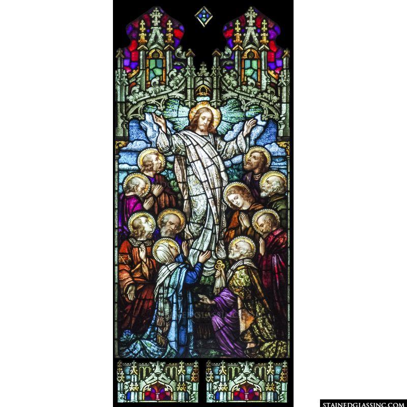 The Lord's Ascension unto Heaven