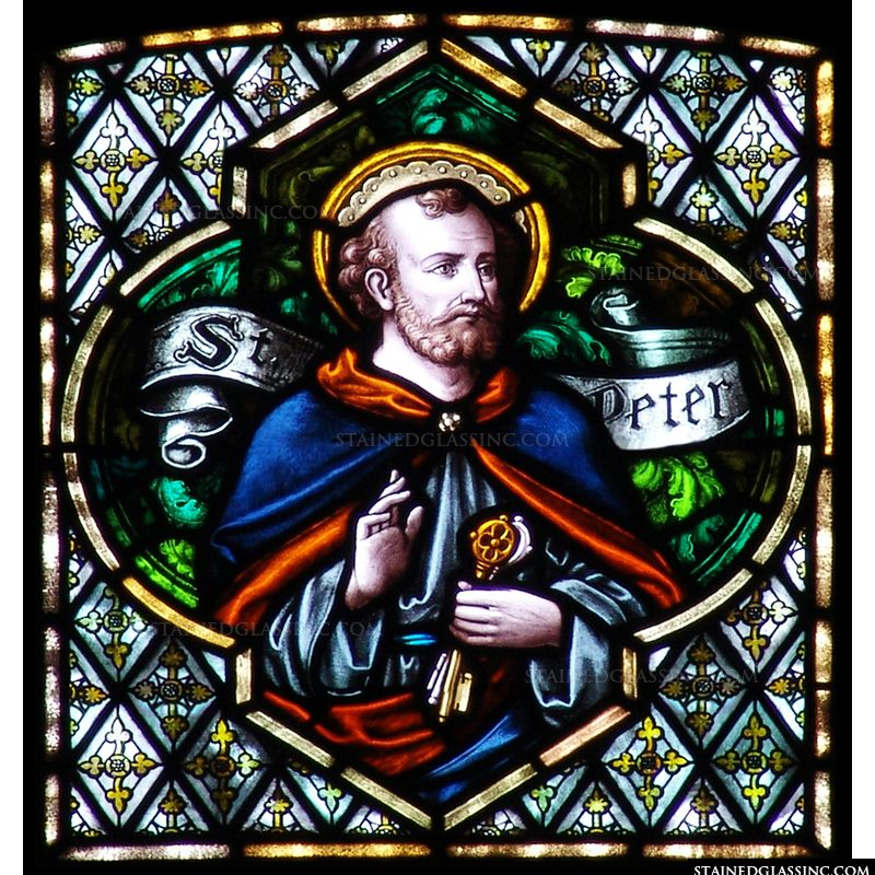 Square St. Peter Window