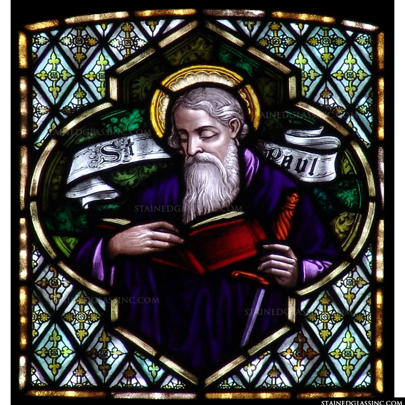 St. Paul with Book and Sword