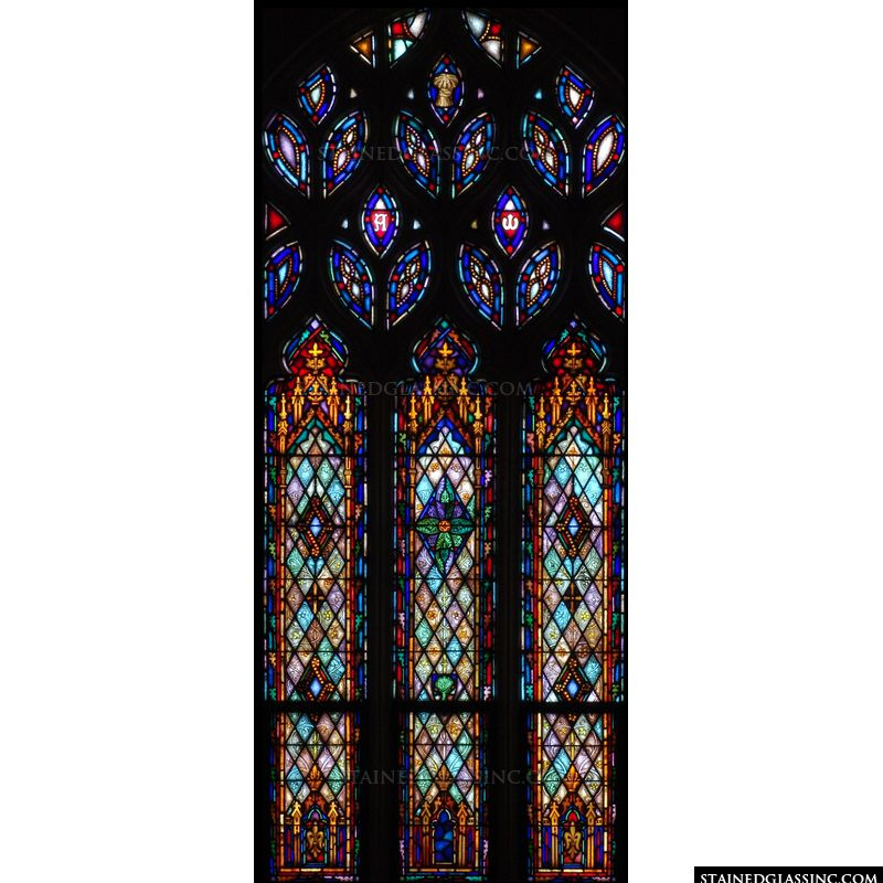 Large Decorative Window
