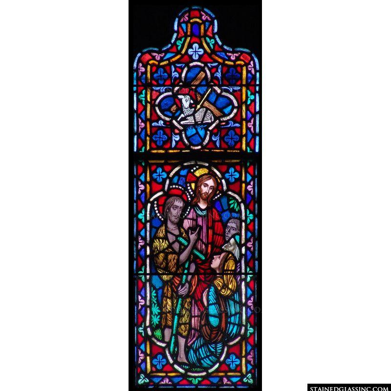 John the Baptist with Jesus