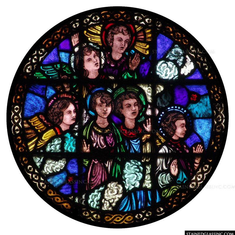 Cherub Rose Window