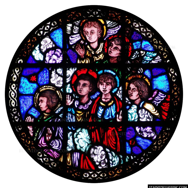 Angels Rose Window