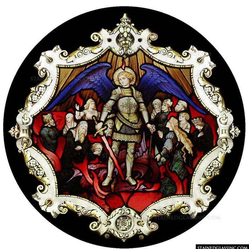 St. Michael Slays the Dragon