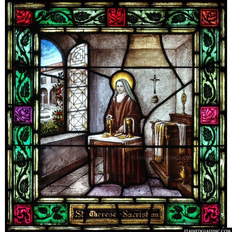 Saint Therese Sacristan