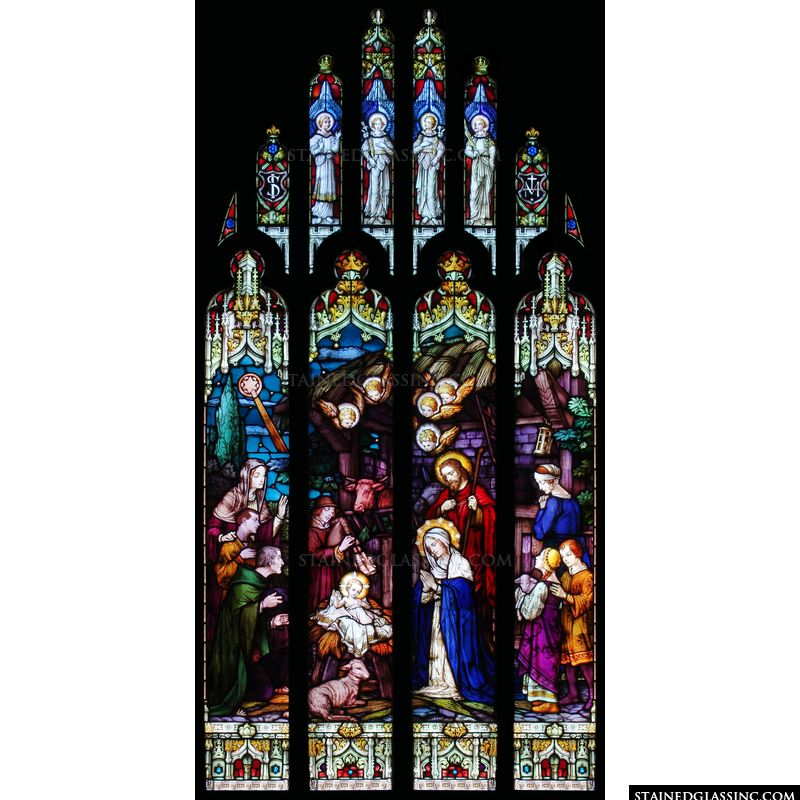 Cathedral Nativity Window