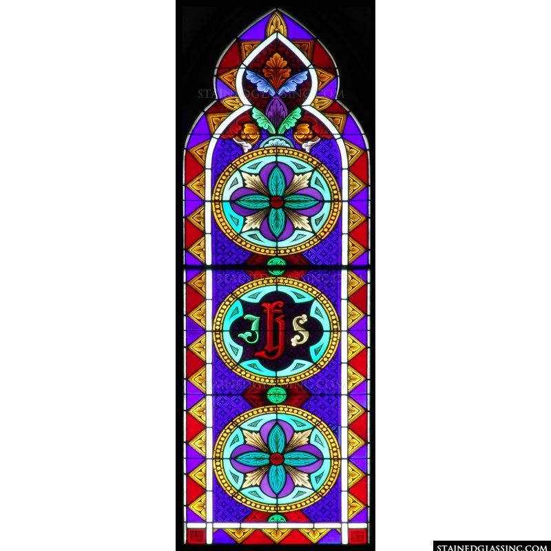 IHS Monogram Gothic