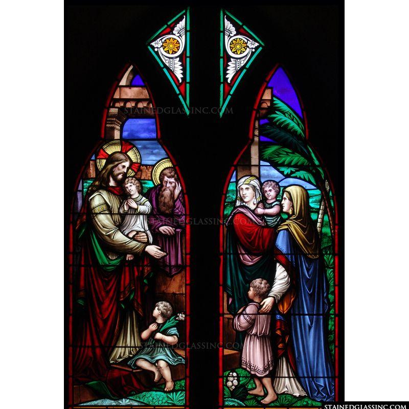 Jesus Blesses the Children