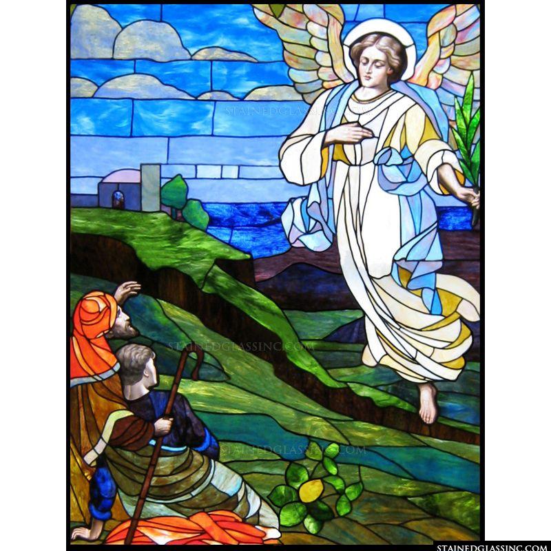 Angel with Shepherds