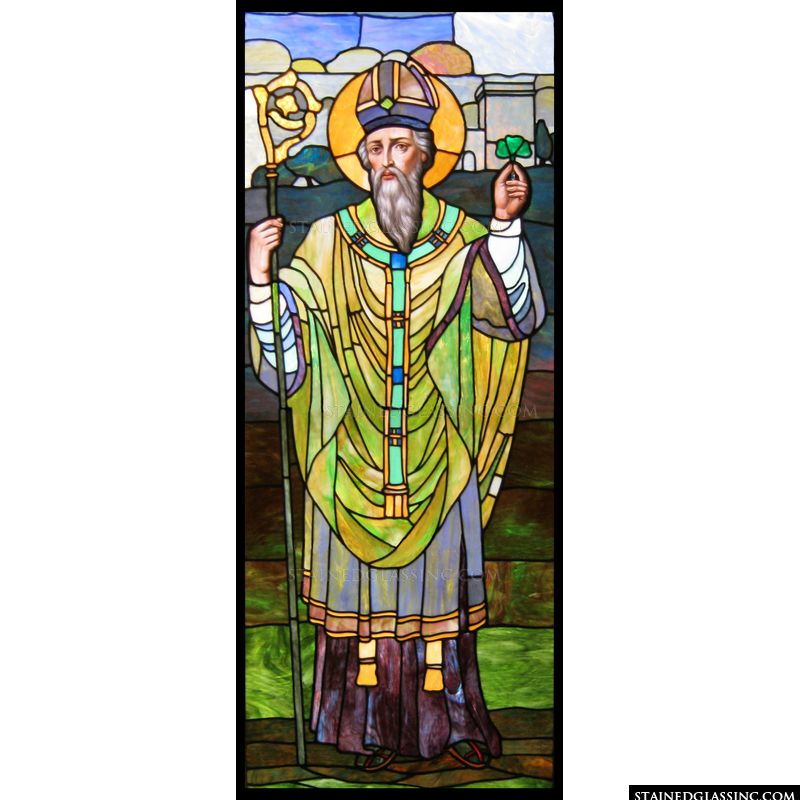 Saint Patrick with Clover
