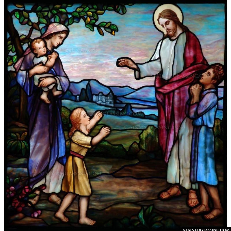 Blessing the Children Tiffany