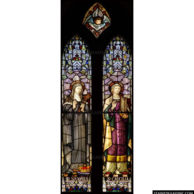 Saint Cecilia and Saint Salomea