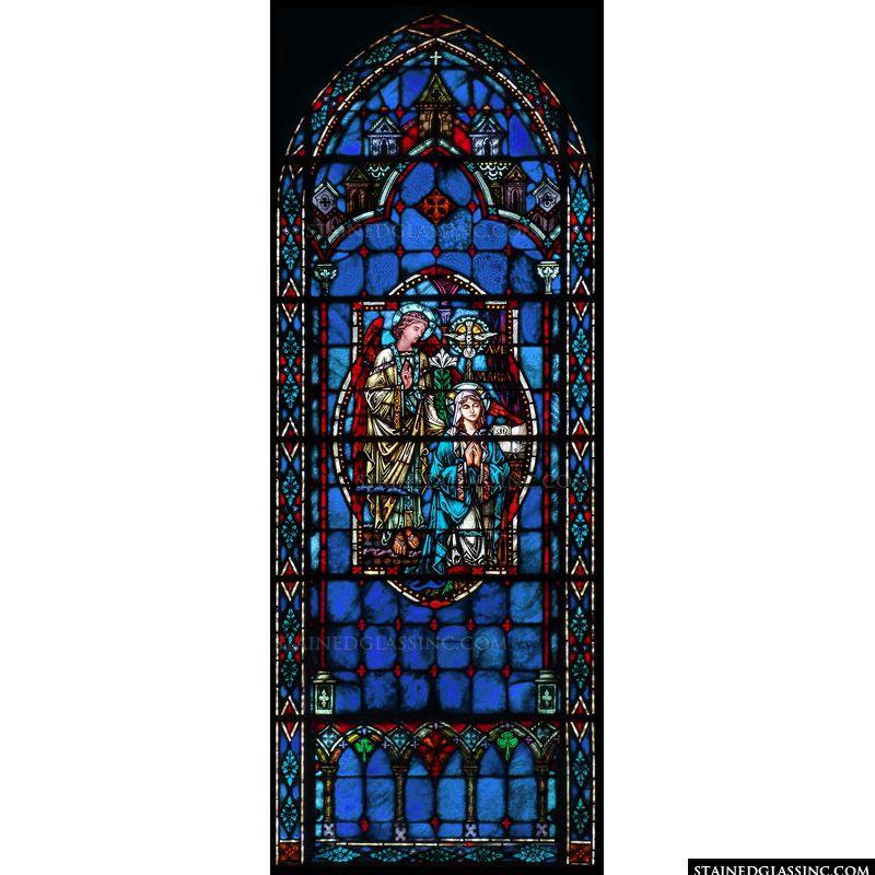 Blue Annunciation