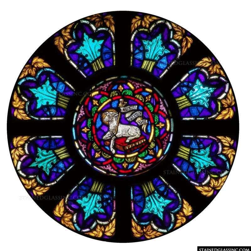 Lamb Rose Window