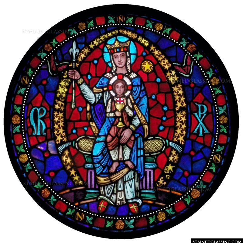Queen of Heaven Rose Window