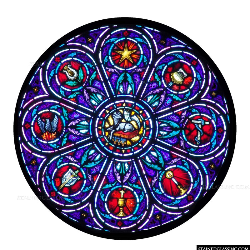 Christian Rose Window