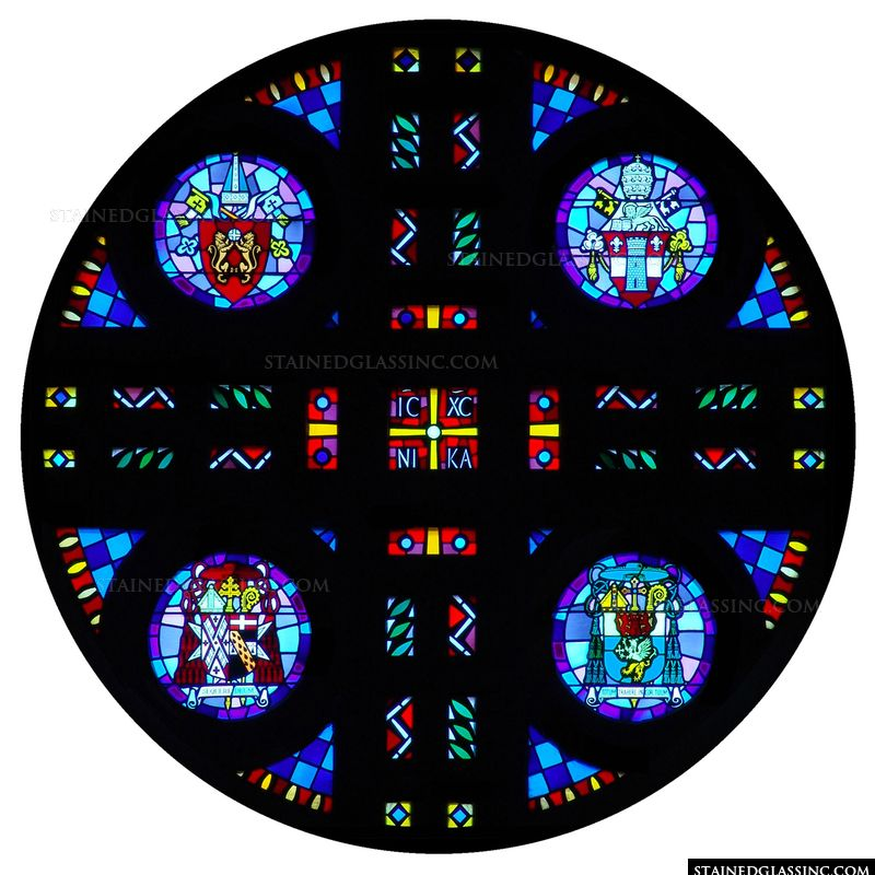 Coat of Arms Rose Window