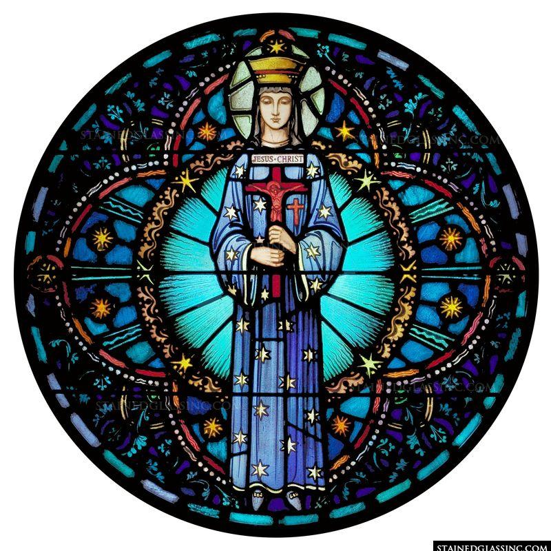 Saint with Crucifix
