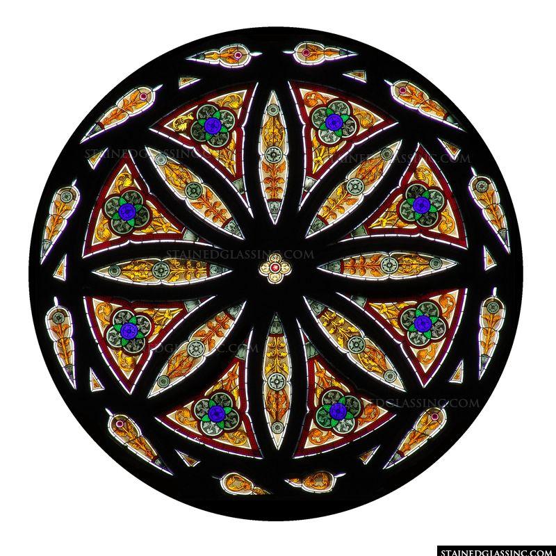 Circular Geometric Window