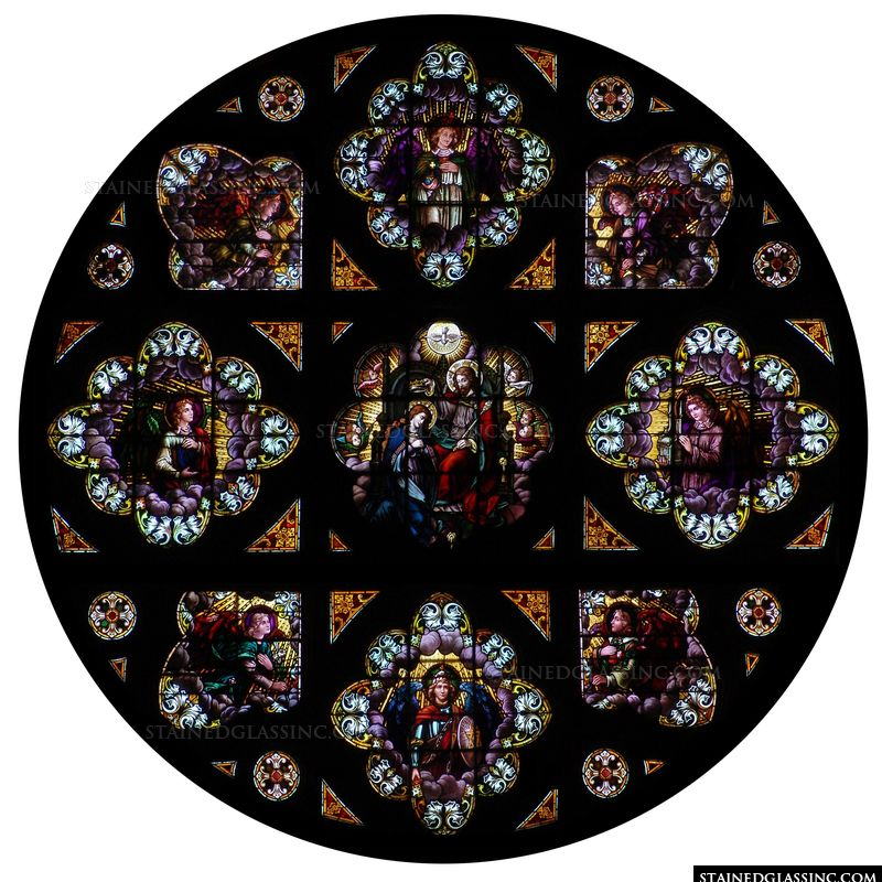 Rose Window Coronation