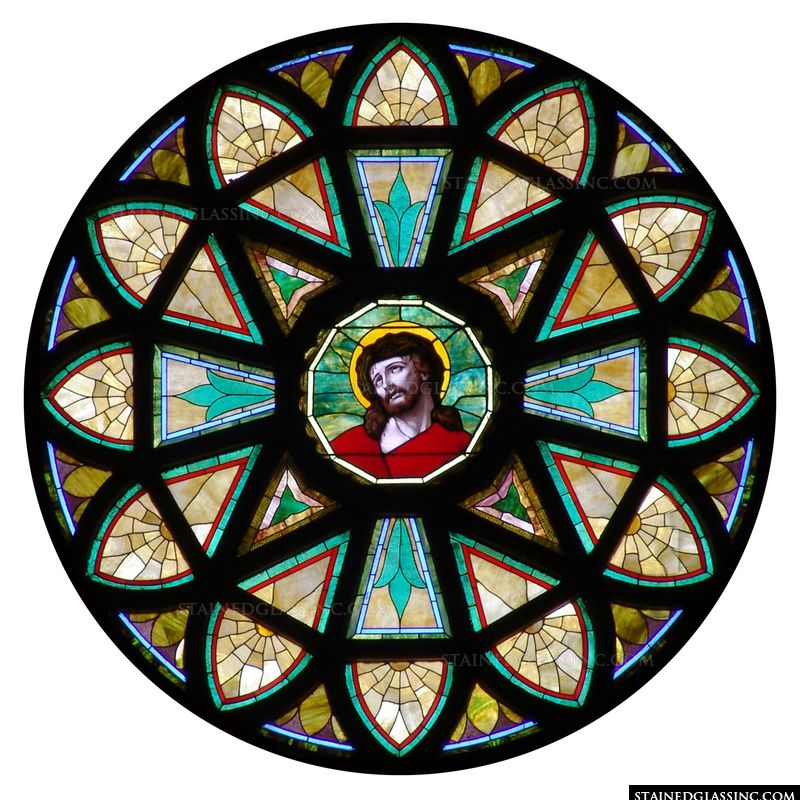 Christ Rose Window