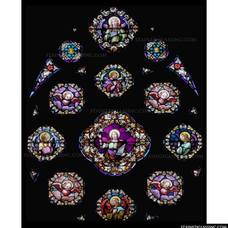 Brilliant Saint Cecilia Window