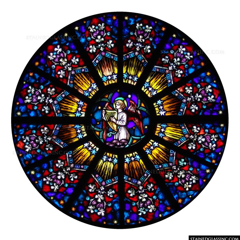 Angelic Rose Window