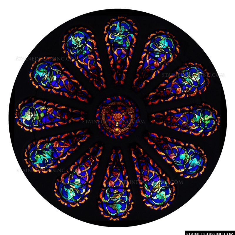 Latin Rose Window