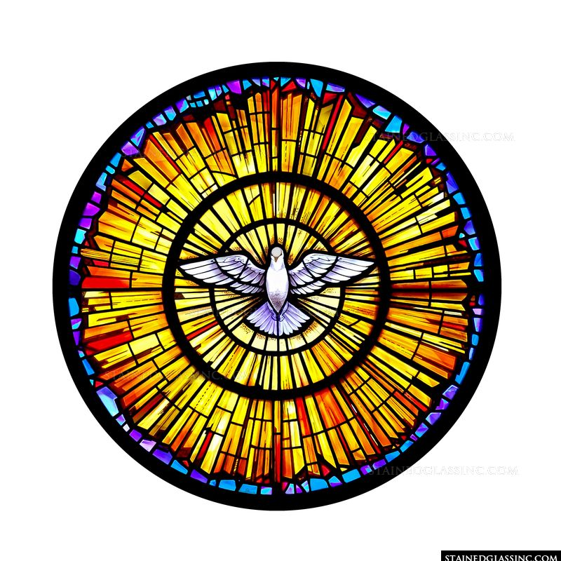 Holy Spirit Rose Window