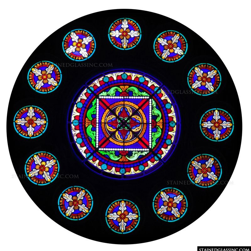 Brilliant Rose Window