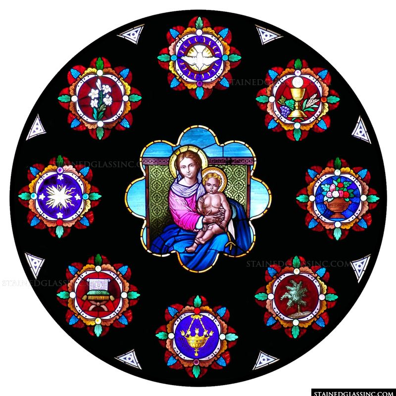 The Madonna in a Round