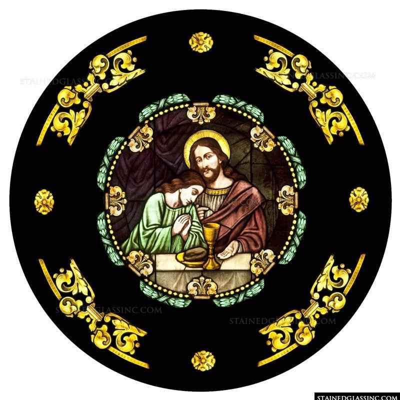 John Leans on Jesus