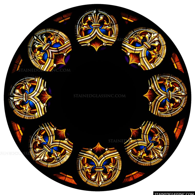 Memorial Rose Window