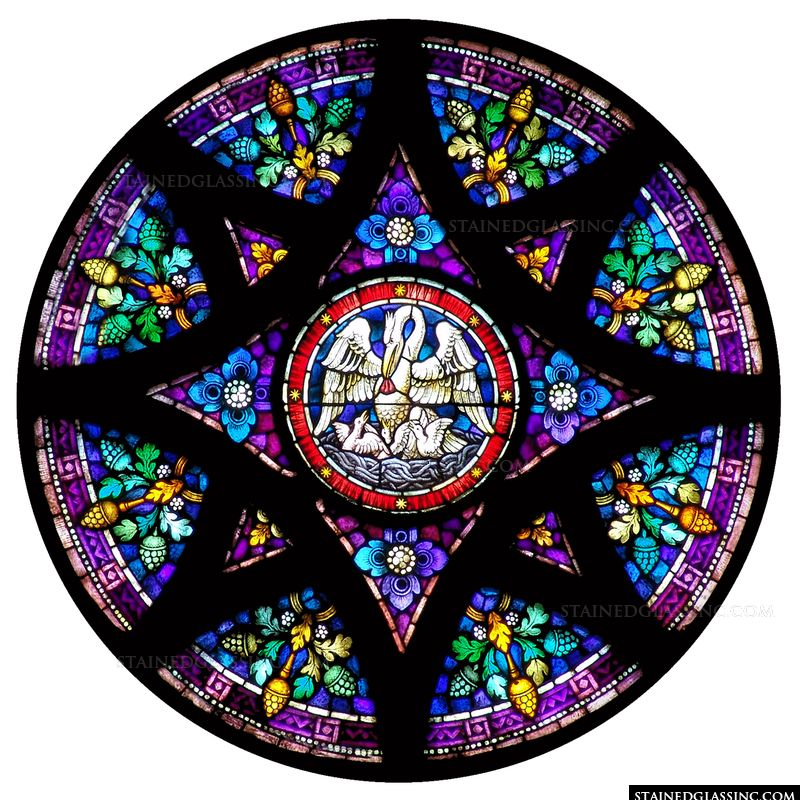 Pelican Rose Window