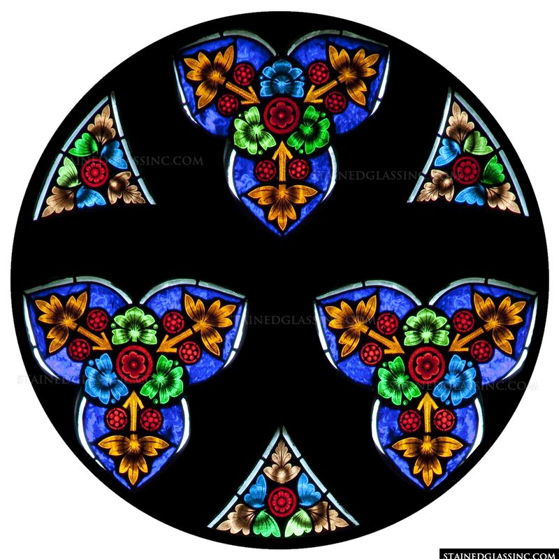 Charming Rose Window