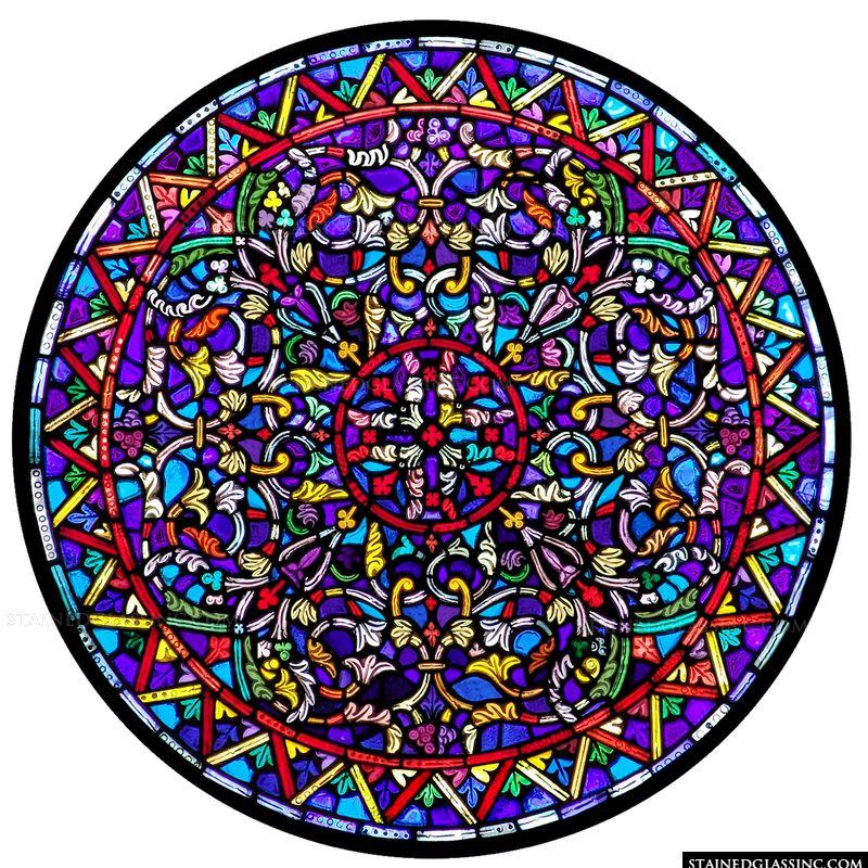 Detailed Circular Window