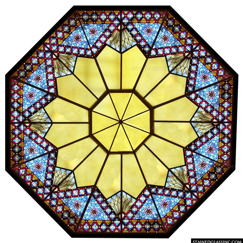 Star-Like Rose Window