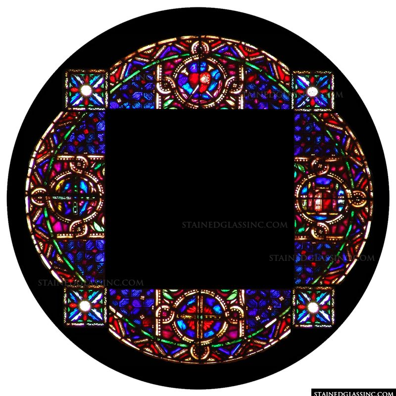 Rose Window Frame