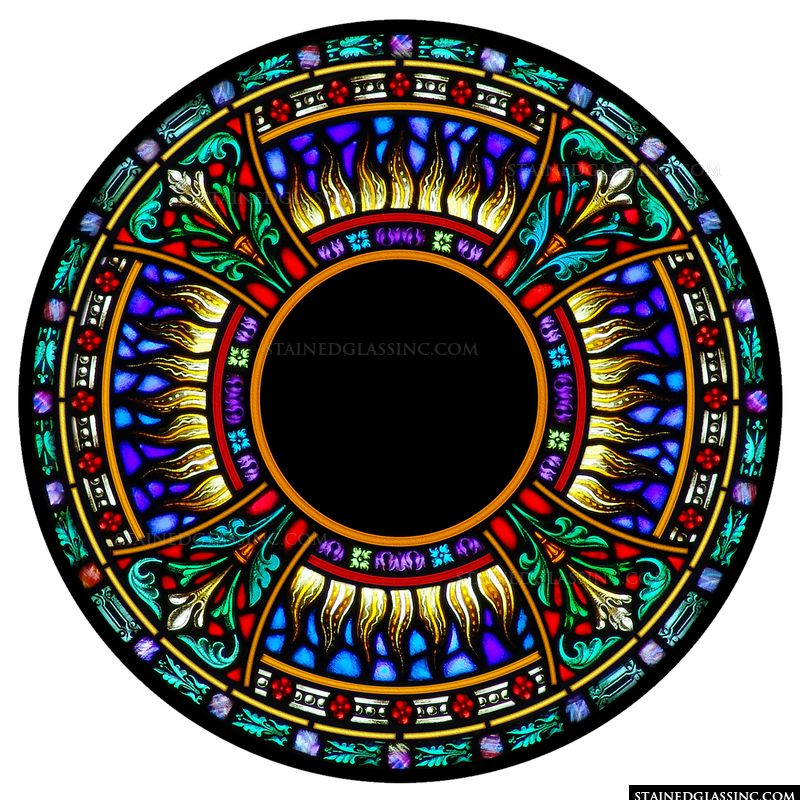 Glorious Rose Window