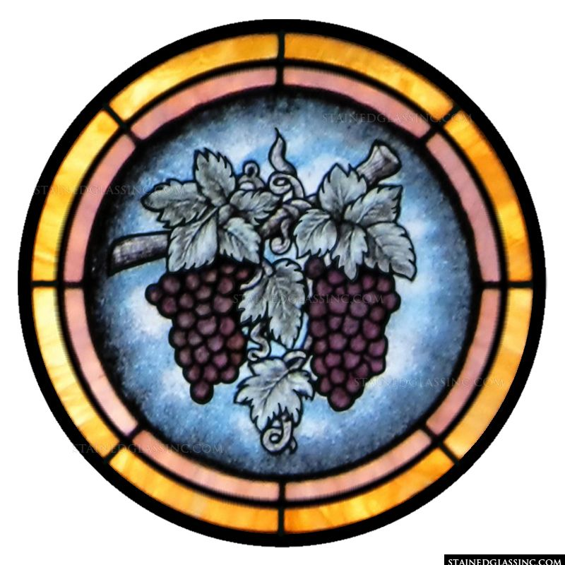 Grapes Catherine Window