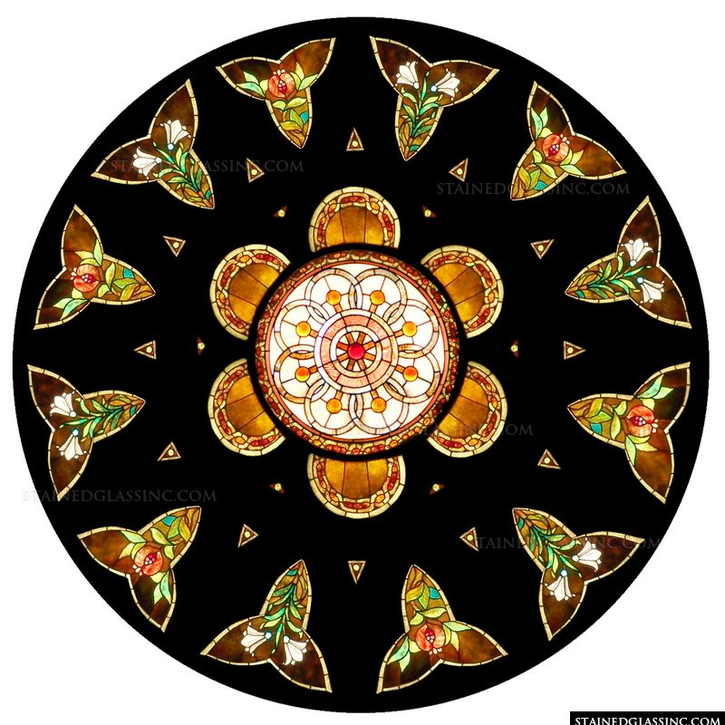 Floral Rose Window