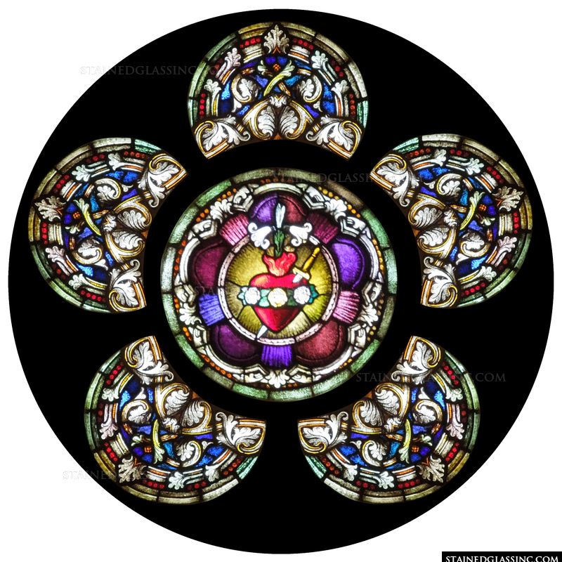 Immaculate Heart Rose Window