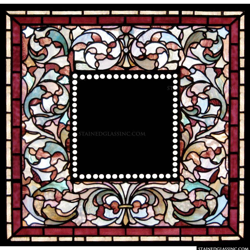 Burgundy Plaque